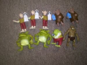 THE SPIDERWICK CHRONICLES MCDONALDS Happy meal Toys Lot Of 9 2008