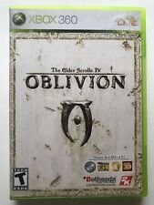 Xbox 360 Oblivion The Elder Scrolls IV Microsoft Video Game With Manual & Map