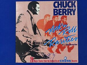 CHUCK BERRY personally signed Rock'N Roll Rarities (double album) LP cover