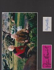 Patrick Stewart and Ray Walston (Star Trek N. Generation 8x10) Autographed Photo
