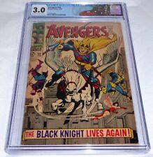 Avengers #48 CGC Universal Grade Comic 3.0 1st Dane Whitman Black Knight Magneto