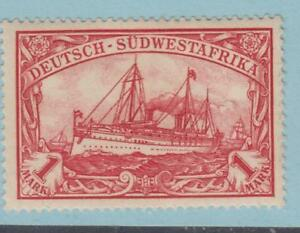 GERMAN SOUTHWEST AFRICA 22 MINT HINGED OG * NO FAULTS EXTRA FINE ! YACHT
