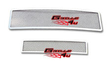 Customized For 03-07 Hummer H2 Stainless Mesh Premium Grille Combo Insert