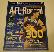 2004 AFL Round 16 Football Record Melbourne v Western Bulldogs