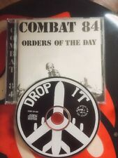 Combat 84 : Orders of the Day Cd Punk Oi