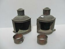 Vintage Brass Nautical Light Lamps Boat Ship Old Lanterns BODY SHELL PROJECT