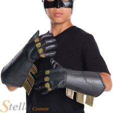 Child Batman Vs Superman Gauntlet Gloves Halloween Fancy Dress Costume Accessory