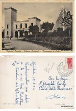 # MAIOLATI SPONTINI: PALAZZO COMUNALE E MONUM. AI CADUTI   1954
