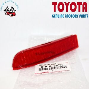 GENUINE TOYOTA 06-12 RAV4 SCION 08-14 xD RIGHT REAR BUMPER REFLECTOR 81910-13022
