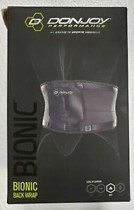 Donjoy Performance Bionic Back Wrap XL Max Support NIB