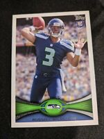 2012 Topps #165 Russell Wilson Rookie Card!🔥🔥 Seahawks