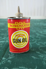 Vintage Winchester Gun Oil Can lead top  3 oz. Nice