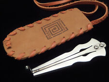 Jew's Harp by D.Glazyrin/ Lighthouse in leather case - mouth instrument Jaw Harp