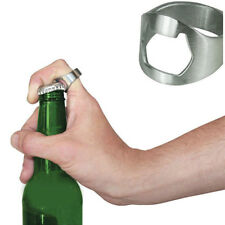 New Stainless Steel Finger Ring Bottle Opener Party Pub Bar Beer tool