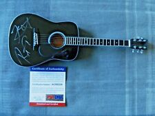 Metallica Kirk Hammett Robert Trujillo Signed Mini Guitar (San Francisco Giants)