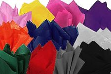 60 x Sheets of Coloured Tissue Paper, gift wrap wrapping packaging inc White