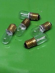 AMPOULE 6V 0.3 amp Vis              Lot 5 Pcs                           L4