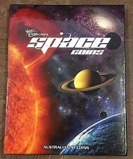 AUSTRALIA  2009 GALILEO HUBBLE + 9 UNC COIN SPECTACULAR COMPLETE SPACE SET ALBUM