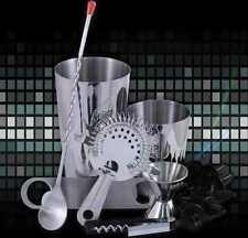 Attrezzatura Barman Bartender set boston tin inox strainer inox