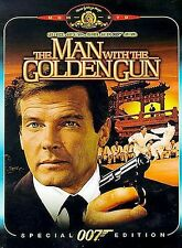 The Man with the Golden Gun (DVD, 2000) Roger Moore FAST SHIPPING