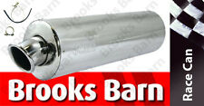 EXC901 CBF500 04/06/12 Alloy Oval Slip-On Viper Exhaust Can