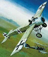 Aerographics Fokker E3 eindecker Balsa avión envergadura 546mm