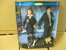 1998 The X-Files Barbie and Ken doll Giftset