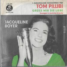 "Jaqueline Boyer ""Tom pillibi"" in German Eurovision France 1960"