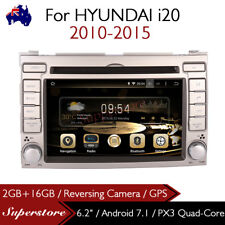 """6.2"""" Android 7.1 Car DVD GPS Stereo Player Navigation Head Unit For Hyundai i20"""