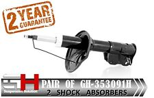 2 NEW FRONT  SHOCK ABSORBERS FOR MITSUBISHI CARISMA 2000-> / GH-353091H /