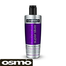 OSMO Super Silver No Yellow Hair Shampoo Blonde Grey Bleached Soft Shine 1000ml