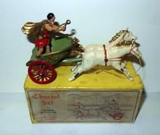 VINTAGE TAYLOR BARRETT LEAD TOY SOLDIER CHARIOT BOXED SET #811 IN BOX