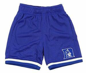NCAA Kids Duke Blue Devils Big Hole Mesh Basketball Shorts