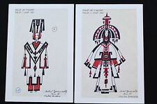 FOLIES BERGÈRE TWO ORIGINAL SHOW DRAWINGS  MICHEL GYARMATHY - lot 3