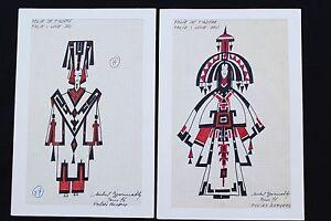 FOLIES BERGÈRE TWO ORIGINAL SHOW DRAWINGS  MICHEL GYARMATHY - lot 3