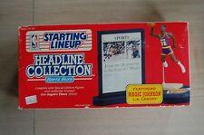 1992 MAGIC JOHNSON Headline Collection SLU NBA figure set with stand LA Lakers