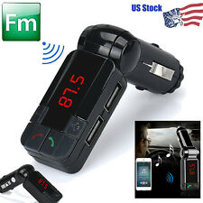 microphone Usb Car Charger Wireless Bluetooth Stereo Mp3 Player Fm Transmitter