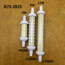 Ceramics SMD2835 Dimmable R7S LED 78/118mm 360 Degree AC220 Corn Bulb Light