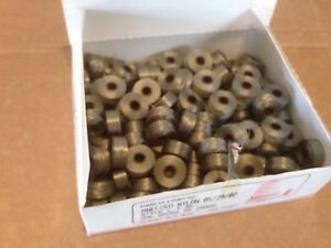 Pre-wound Bobbins box of 144pcs Old Gold AE24 55 Yards per bobbin
