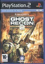 Tom Clancy's Ghost Recon 2 PS2 Ottima 1a Stampa Italiana con manuale