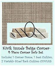 IKEA Kivik PARTIAL Corner Sofa Section COVER ONLY Isunda Beige Tan NEW 4 Piece