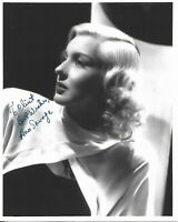 ANN SAVAGE Autographed 8 x 10 Signed Photo TODD MUELLER COA