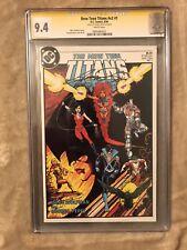 The New Teen Titans #1 (1984, DC) CGC 9.4 SS George Perez
