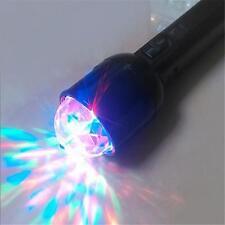 DJ 3W Laser Machines Disco Light Stage Colorful Crystal LED RGB Flashlight
