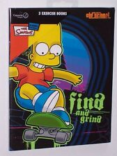 Bart Simpson Find and Grind Exercise Books - set of 3