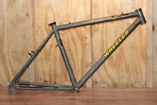 Vintage Wheeler Titanium Mountain Bike Frame Made Ericksen Moots 16.5
