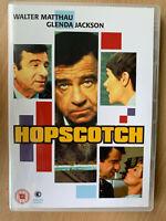 Hopscotch DVD 1980 Culto Frío Guerra Película Suspense Clásico W/ Walter Matthau