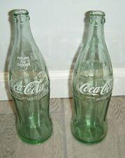 Lot Of 2- 26 OZ. COKE / COCA-COLA BOTTLE WITH WHITE LOGO