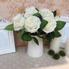 Bouquet fleurs Artificielles Faux Soie Mignon DIY Décoration Mariage Maison