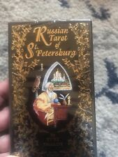RUSSIAN TAROT OF SAINT PETERSBURG CARDS DECK YURI SHAKOV for cat resQ